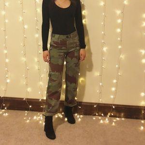 Zara Camo Pants